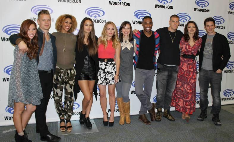 """Star-Crossed"" cast (photo credit: Jennifer Schadel)"