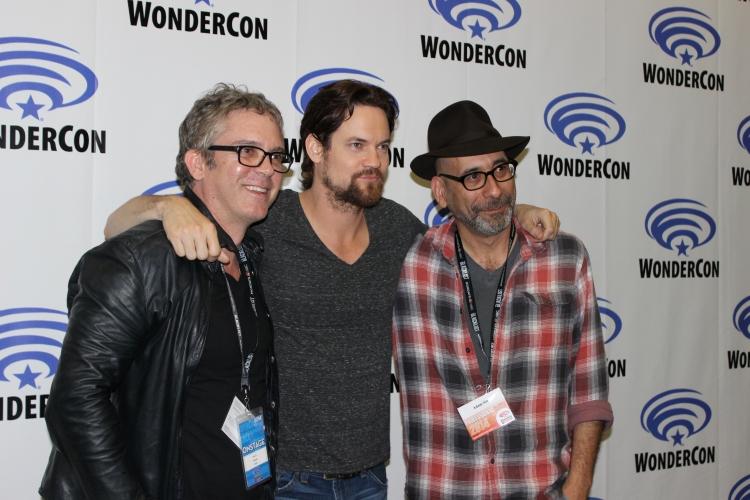 """Salem"" producers and Shane West (photo credit: Jennifer Schadel)"
