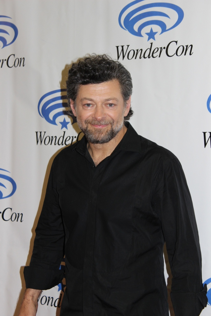"""Andy Serkis of """"Rise of the Planet of the Apes""""  (photo credit: Jennifer Schadel)"""