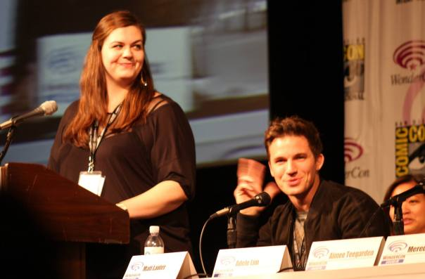 Jean Bentley and Matt Lanter  (photo credit: Jennifer Schadel)