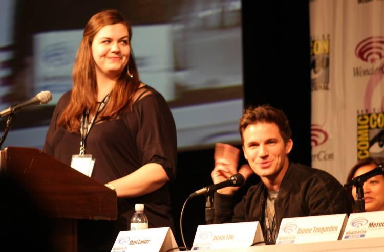 Jean Bentley and Matt Lanter  (photo credit: Jennifer Schadel)