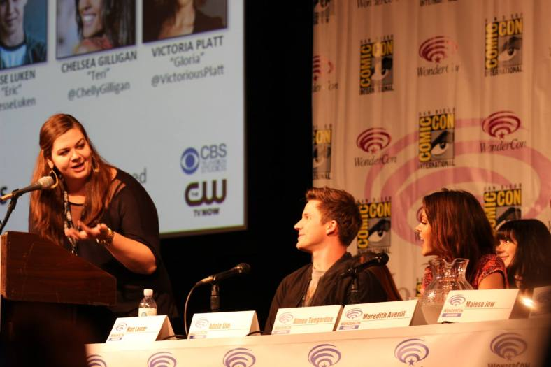 Jean Bentley, Matt Lanter, Aimee Teegarden  (photo credit: Jennifer Schadel)