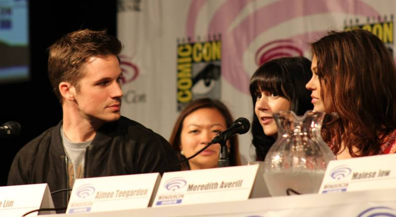 Matt Lanter, Adele Lim, Meredith Averill  (photo credit: Jennifer Schadel)