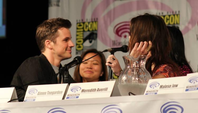 Matt Lanter, Adele Lim, Aimee Teegarden  (photo credit: Jennifer Schadel)