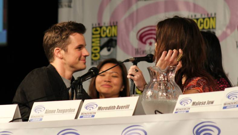 Matt Lanter, Adele Lim, Aimee Teegarden  (photo credit: Jennifer Schadel)