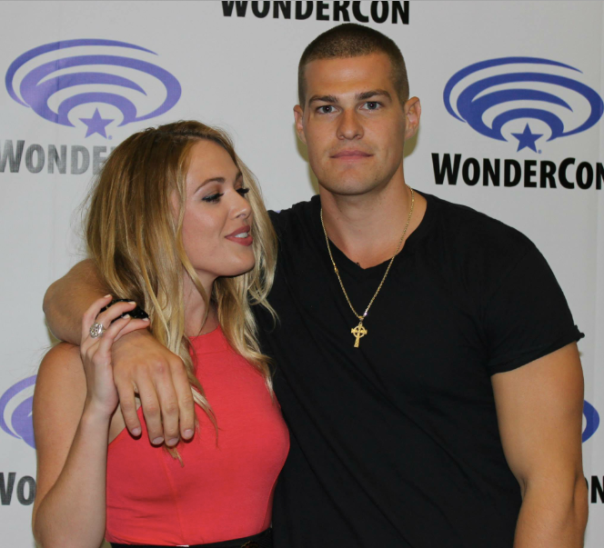 Natalie Hall and Greg Finley  (photo credit: Jennifer Schadel)
