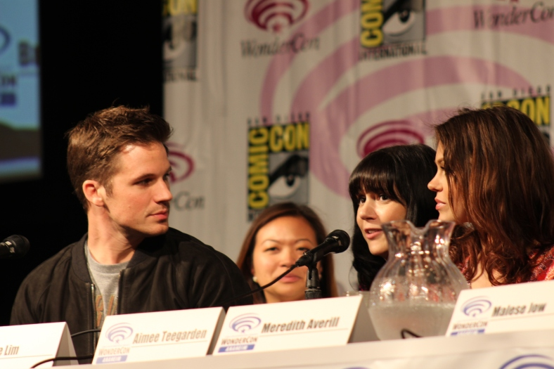 Matt Lanter, Meredith Averill, Aimee Teegarden  (photo credit: Jennifer Schadel)