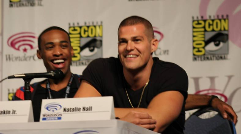 Titus Makin and Greg Finley  (photo credit: Jennifer Schadel)