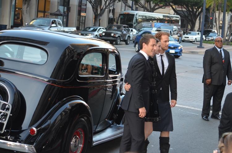 """Outlander"" premiere (photo credit: Genevieve Collins)"