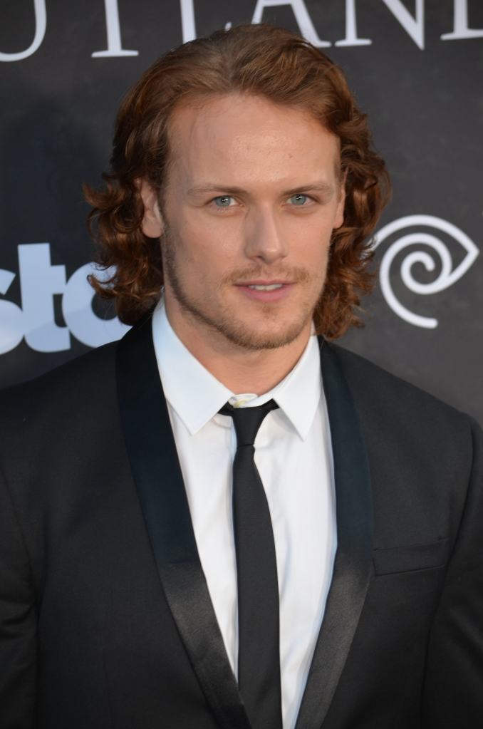 Sam Heughan (photo credit: Genevieve Collins)