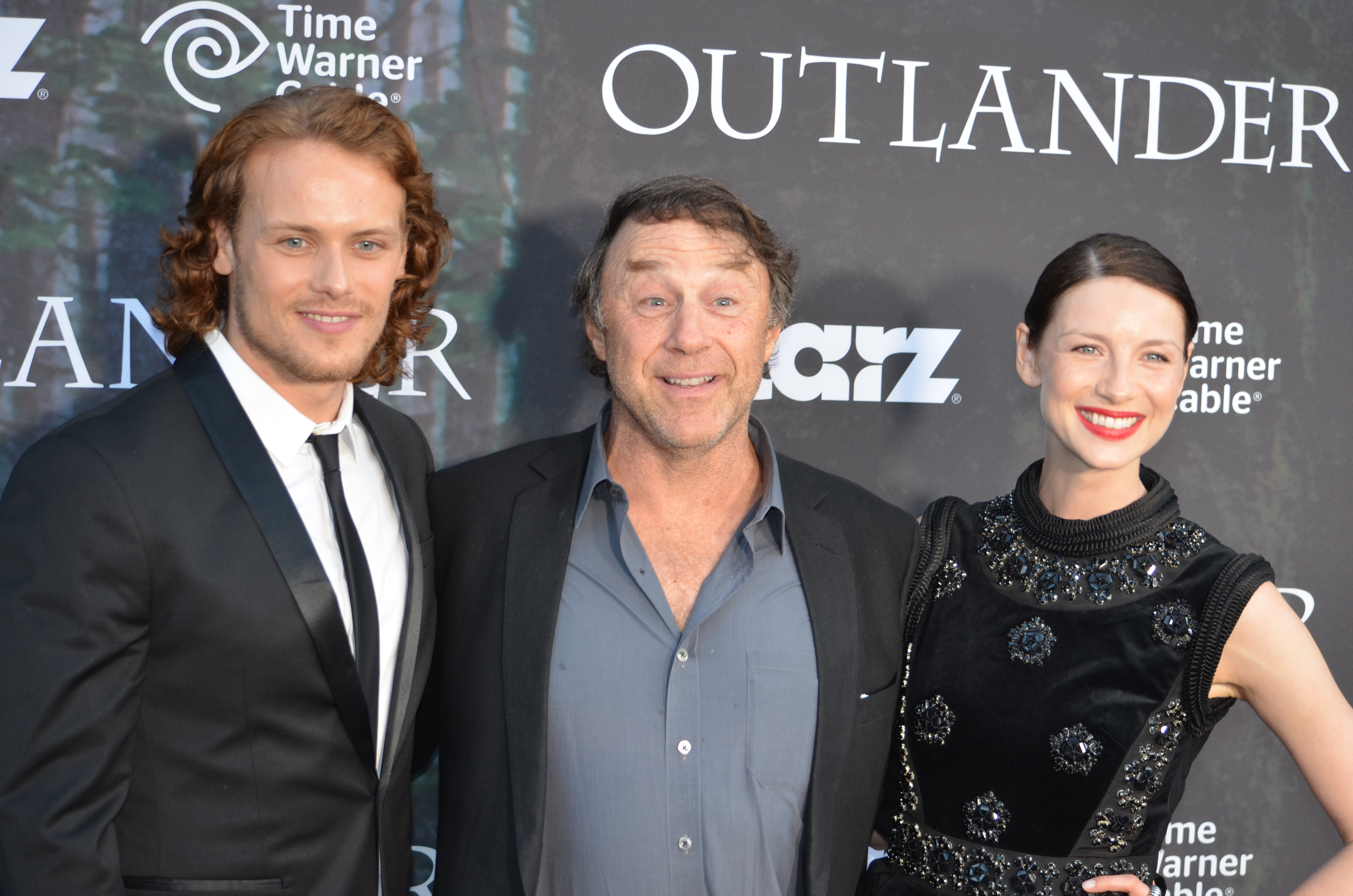 OUTLANDER: Photos and video interviews at SDCC (2014 ...