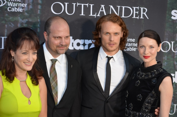 """Outlander"" premiere (photo credit: Genevieve Collins)"