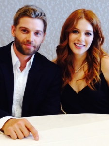 Mike Vogel and Rachelle Lefevre (photo credit: Tiffany Vogt)