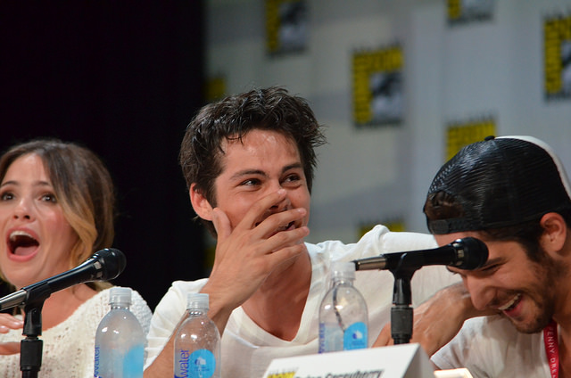 Dylan O'Brien (photo credit: Genevieve Collins)
