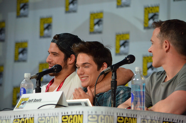Tyler Posey and Dylan Sprayberry (photo credit: Genevieve Collins)