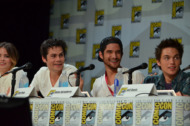 Dylan O'Brien and Tyler Posey (photo credit: Genevieve Collins)