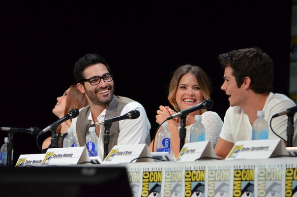 Tyler Hoechlin, Shelley Hennig, Dylan O'Brien (photo credit: Genevieve Collins)