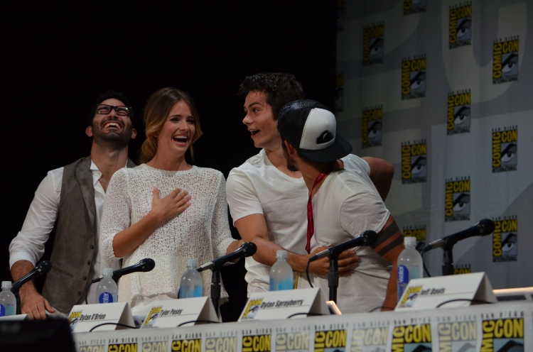 """Teen Wolf"" cast (photo credit: Genevieve Collins)"
