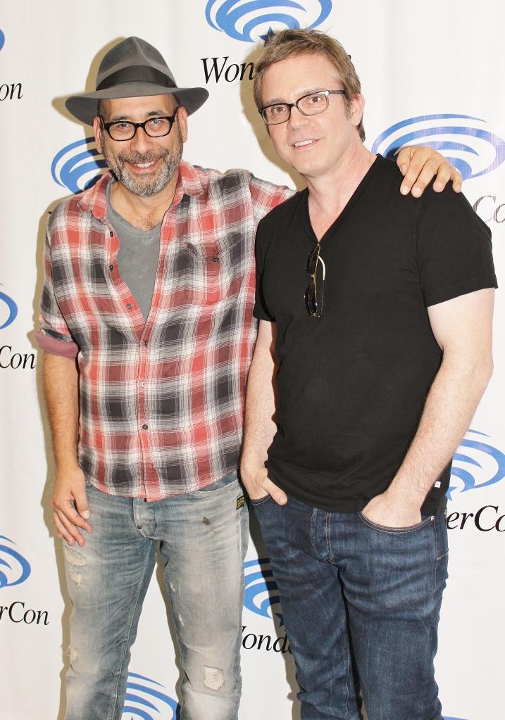 Adam Simon and Brannon Braga  (photo credit: Jennifer Schadel)