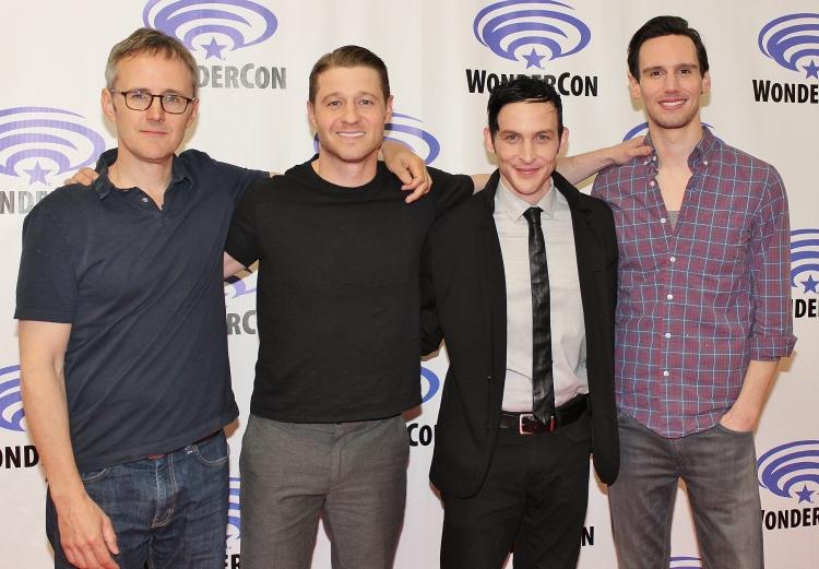 John Stephens, Ben McKenzie, Robin Lord Taylor, Cory Michael Smith  (photo credit:  Jennifer Schadel)