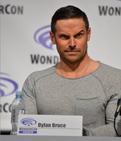Dylan Bruce  shares his funny face at what Season 3 holds in store (photo credit: Genevieve Collins)
