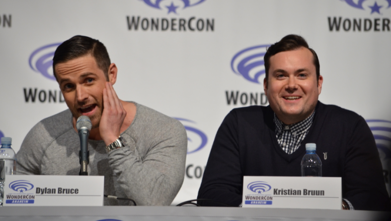 Dylan Bruce and Kristian Bruun (photo credit: Genevieve Collins)