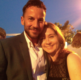 Craig Parker and Megan Follows (photo credit: Tiffany Vogt)