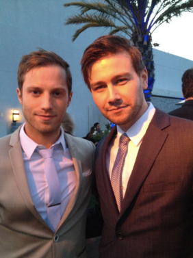 Jonathan Keltz and Torrance Coombs (photo credit: Tiffany Vogt)