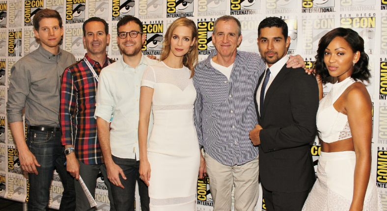 """Minority Report"" cast at SDCC (photo credit: Jennifer Schadel)"