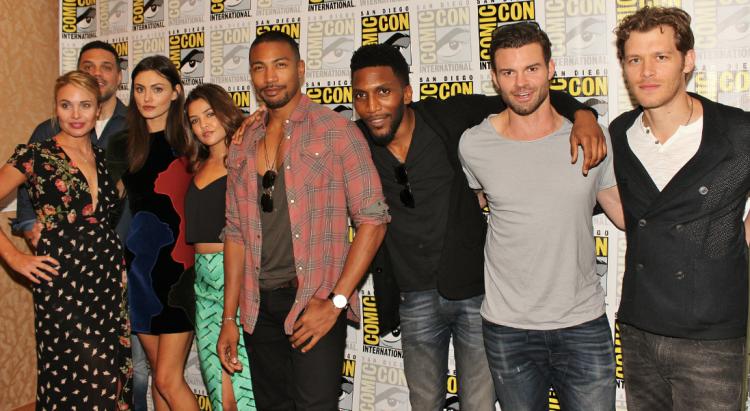 """""""The Originals"""" cast at SDCC (photo credit: Jennifer Schadel)"""